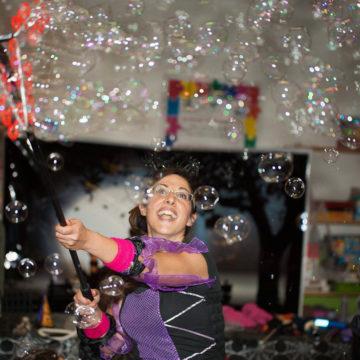 bubble-rain